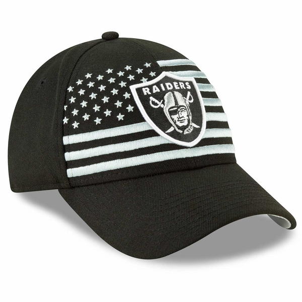 Raiders New Era 9Forty 2019 On Stage Draft Cap