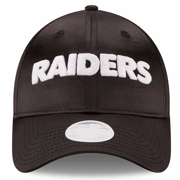 Raiders New Era 9Forty Satin Team Charmer