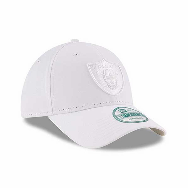 low priced 3838b 84c5d ... canada raiders new era 9forty white on white logo cap ff7ca 26bb1
