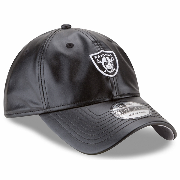 Raiders New Era 9Twenty Leather Squad Cap