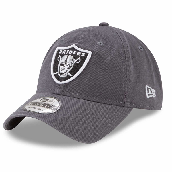 Raiders New Era 9Twenty Women's Core Classic Graphite Cap