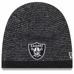Raiders New Era Black Reversible Basic Team Beanie 6e18d3810