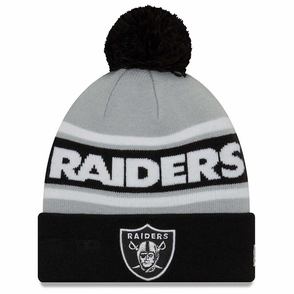 Raiders New Era Callout Pom