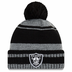Raiders New Era Glacial Pom Knit 01404f851