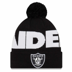 Raiders New Era Logo Whiz 3 Team Colored Knit Pom 555d19257
