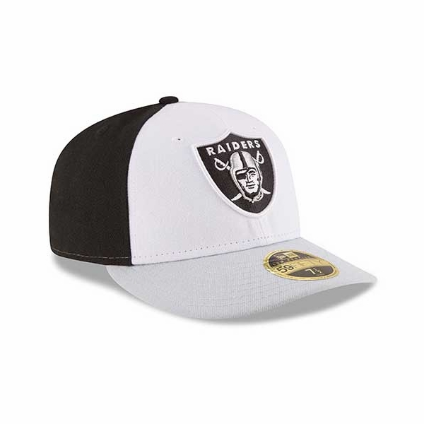 cb1dfc4da16 Raiders New Era Low Crown 59Fifty Front  N Center Cap