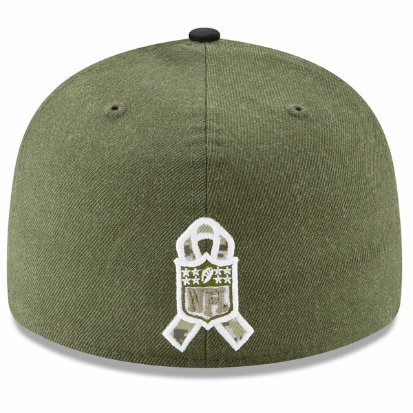 Raiders New Era Low Profile 59Fifty 2018 Salute to Service Cap