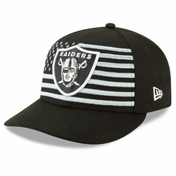 56703c26848 Raiders New Era Low Profile 59Fifty 2019 On Stage Draft Cap
