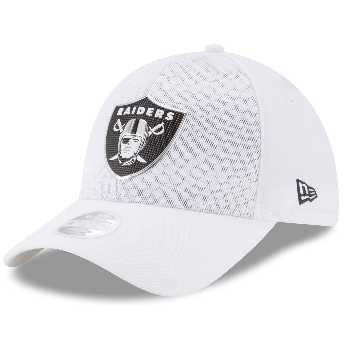 separation shoes 41701 a9481 Raiders New Era Official 2017 Sideline Color Rush Women s Cap