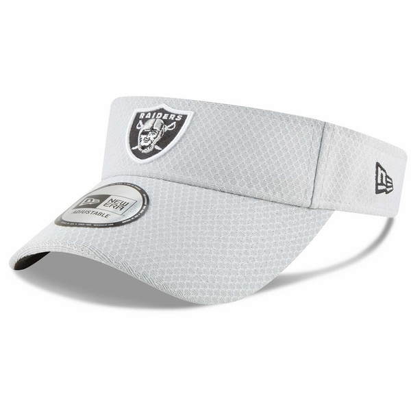 Raiders New Era Official 2018 Training Camp Visor