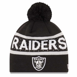 Raiders New Era Pretty Pom Knit 02cac837b