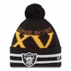 Raiders New Era Super Wide Point XV Knit Hat