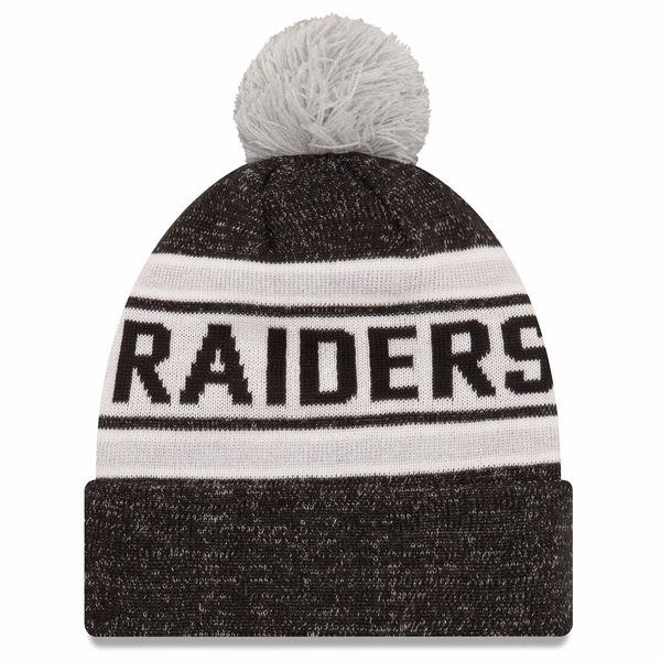 Raiders New Era Toasty Cover Knit