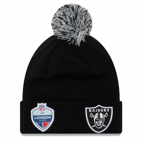 Raiders New Era Union Jack Cuff Knit