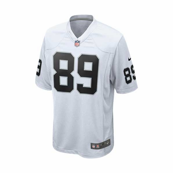 Raiders Nike Amari Cooper White Game Jersey