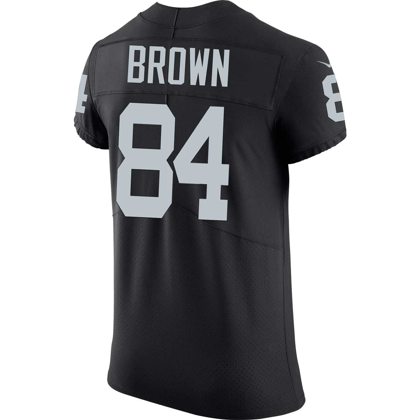 b70138c63dd2 Raiders Nike Antonio Brown Black Elite Jersey