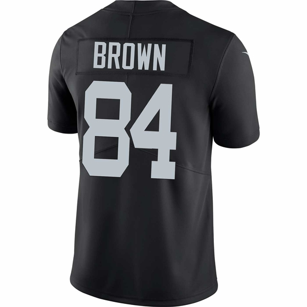 Raiders Nike Antonio Brown Black Limited Jersey