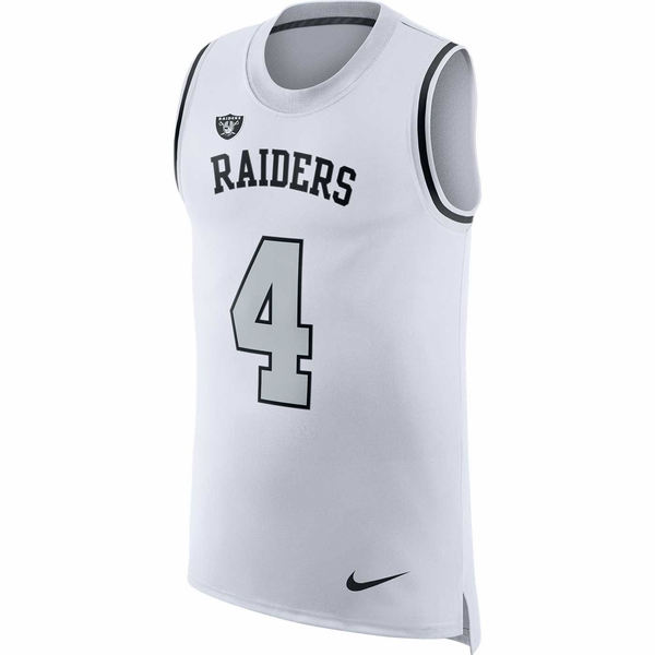 Raiders Nike Derek Carr Color Rush Tank Top