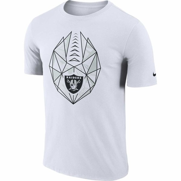 Raiders Nike Dri-FIT Icon White Tee