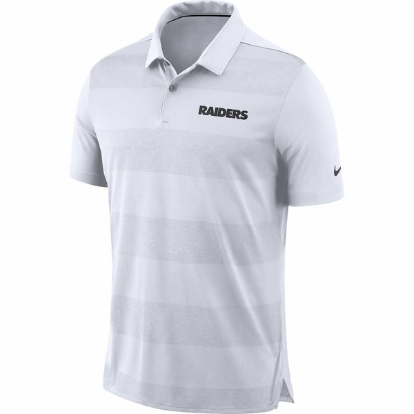 Raiders Nike Early Season White Polo