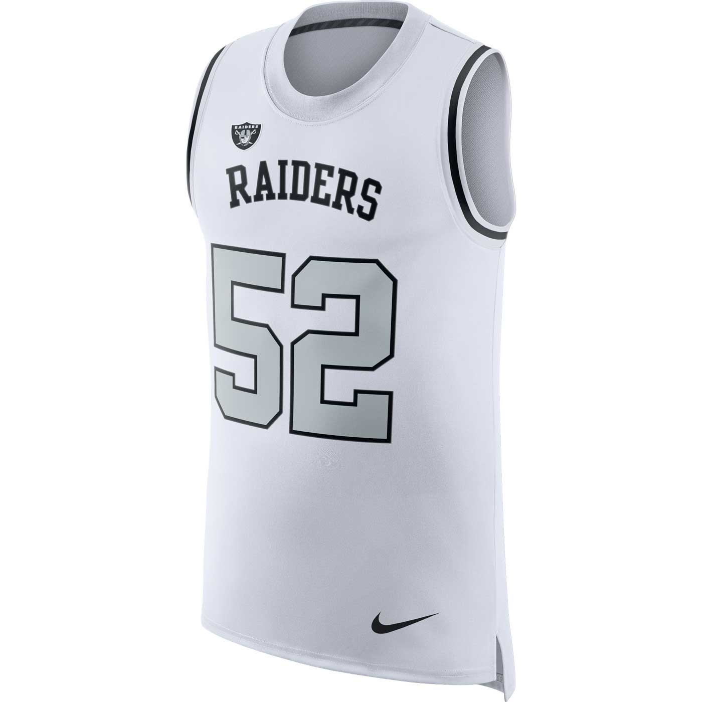 b786d416c Raiders Nike Khalil Mack Color Rush Tank Top