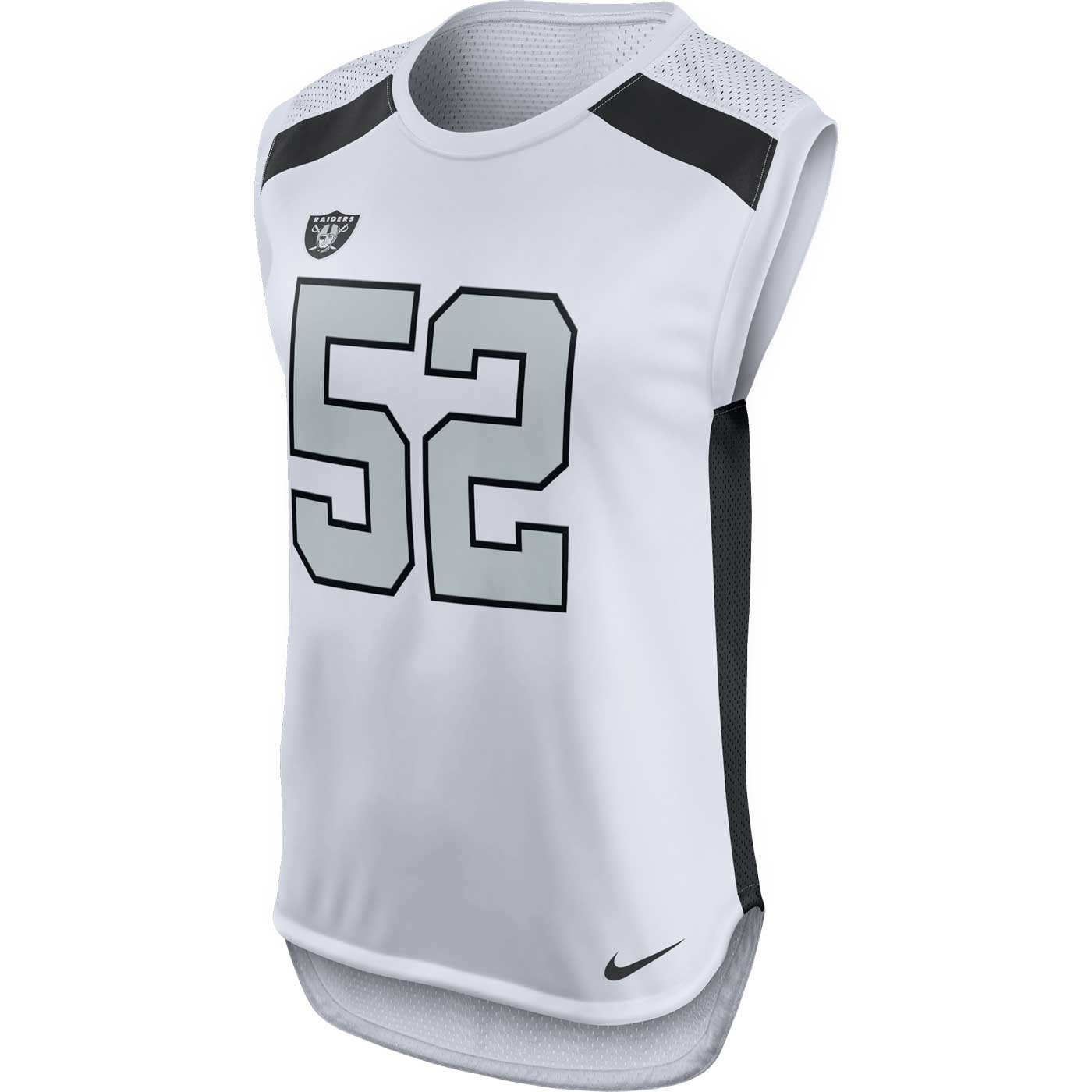 ec1aeb23e Raiders Nike Khalil Mack Women's Color Rush Tank Top