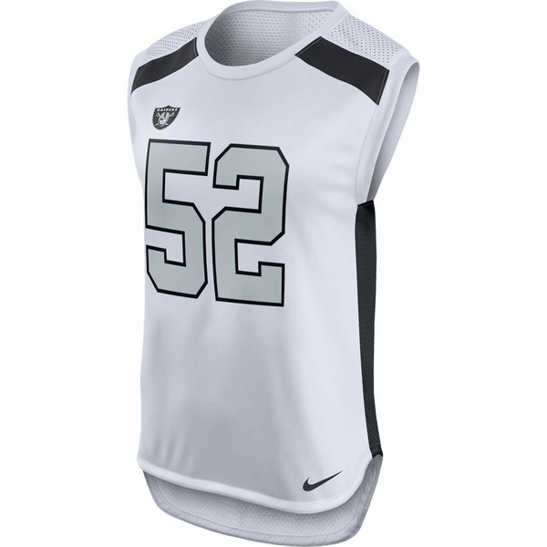 Raiders Nike Khalil Mack Women's Color Rush Tank Top