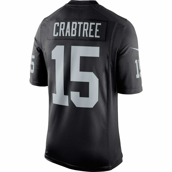 Raiders Nike Michael Crabtree Black Limited Jersey