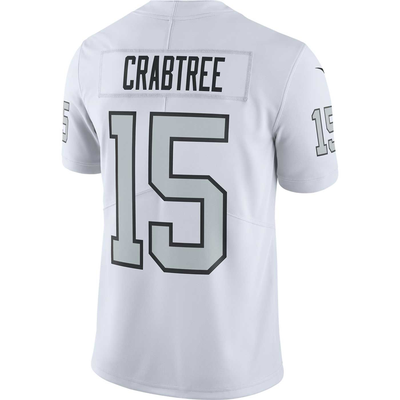 on sale 5d408 befeb Raiders Nike Michael Crabtree Color Rush Limited Jersey
