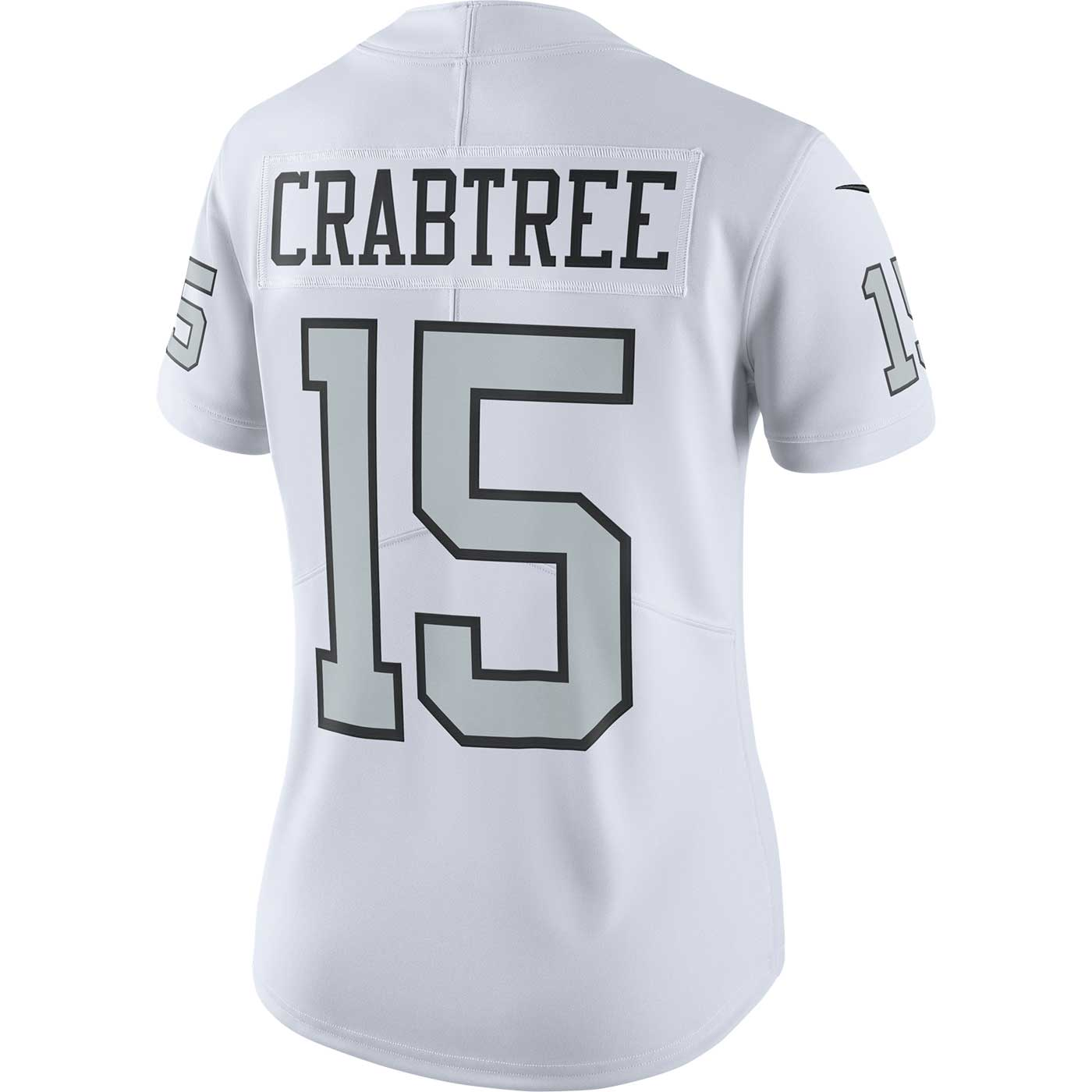 Raiders Nike Michael Crabtree Women s Limited Color Rush Jersey 422c34a68