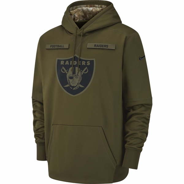 Raiders Nike Salute to Service Therma Hood