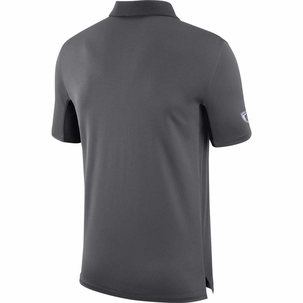 Raiders Nike Team Issue Anthracite Polo
