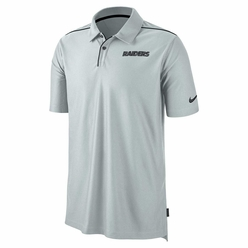 049f6076 Raiders Nike Team Issue Gray Polo