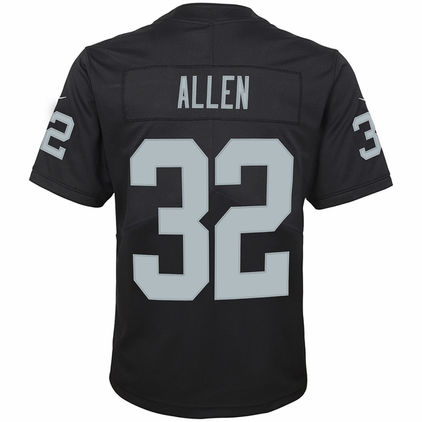 Raiders Nike Youth Marcus Allen Black Limited Jersey