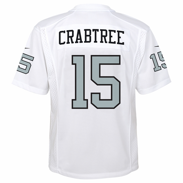 Raiders Nike Youth Michael Crabtree Color Rush Game Jersey