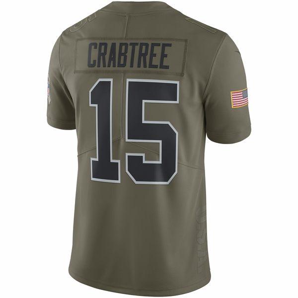 Raiders Nike Youth Michael Crabtree Salute To Service Jersey