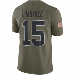 aab0ade88 Raiders Nike Youth Michael Crabtree Salute To Service Jersey