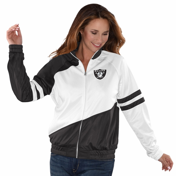 Raiders Perfect Pitch Track Jacket