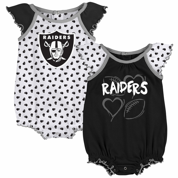 Raiders Play With Heart Two Pack