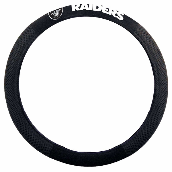 Raiders Poly Suede Wheel Cover