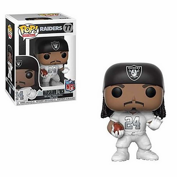 Raiders Pop Vinyl Marshawn Lynch Color Rush Figure