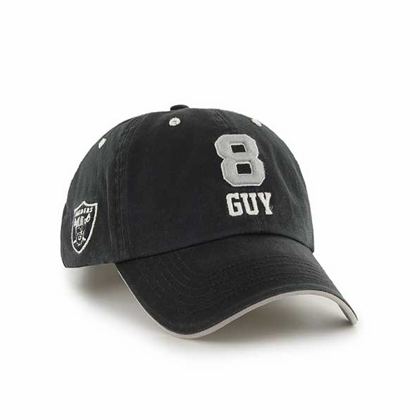 Raiders Ray Guy Hall of Fame Name and Number Hat
