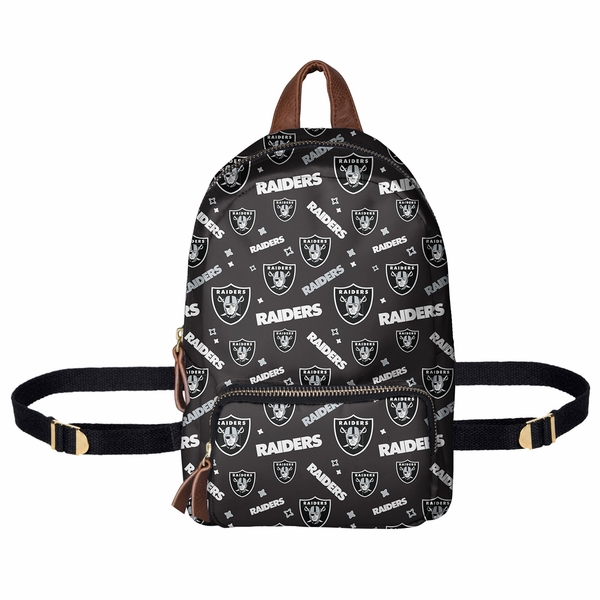 Raiders Repeat Print Mini Backpack