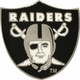 Raiders Shield Lapel Pin