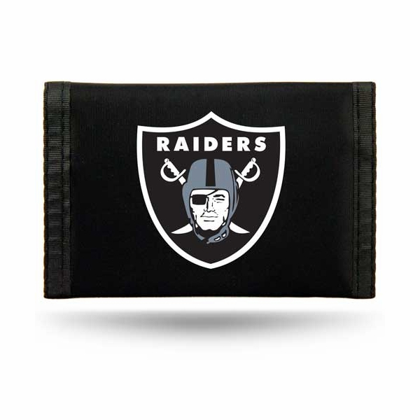 Raiders Shield Logo Nylon Wallet