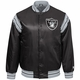 Raiders Starter Enforcer Black Satin Jacket