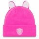 Raiders Toddler Pink Cozy Cutie Knit