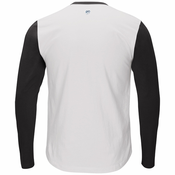 Raiders Tradition Long Sleeve Henley Top