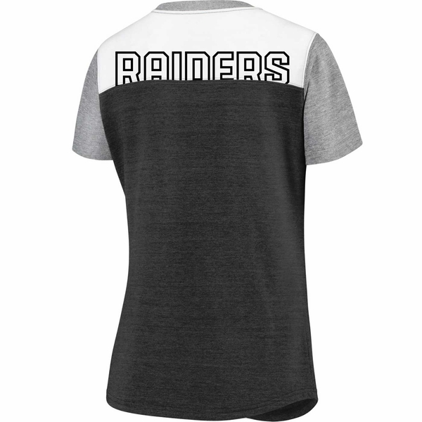 Raiders Women's Iconic Pocket Tee