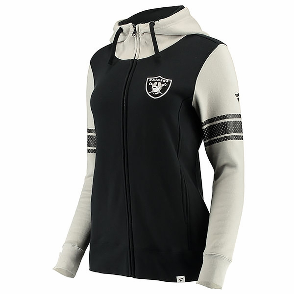 Raiders Womens Iconic Full Zip Hood